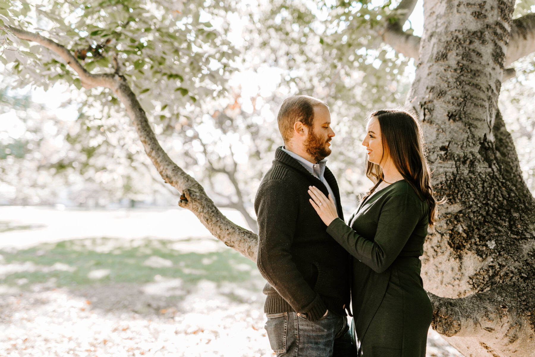 Roger Williams Park Providence Engagement Erica and Brian Blueflash Photography 2