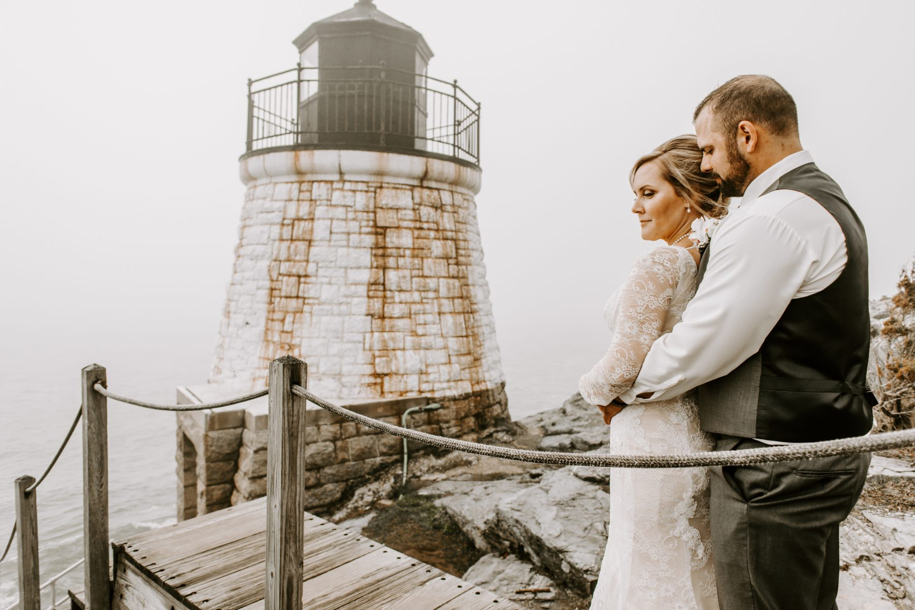 Castle Hill Newport Elopement Lorrie and Ed Blueflash Photography 11