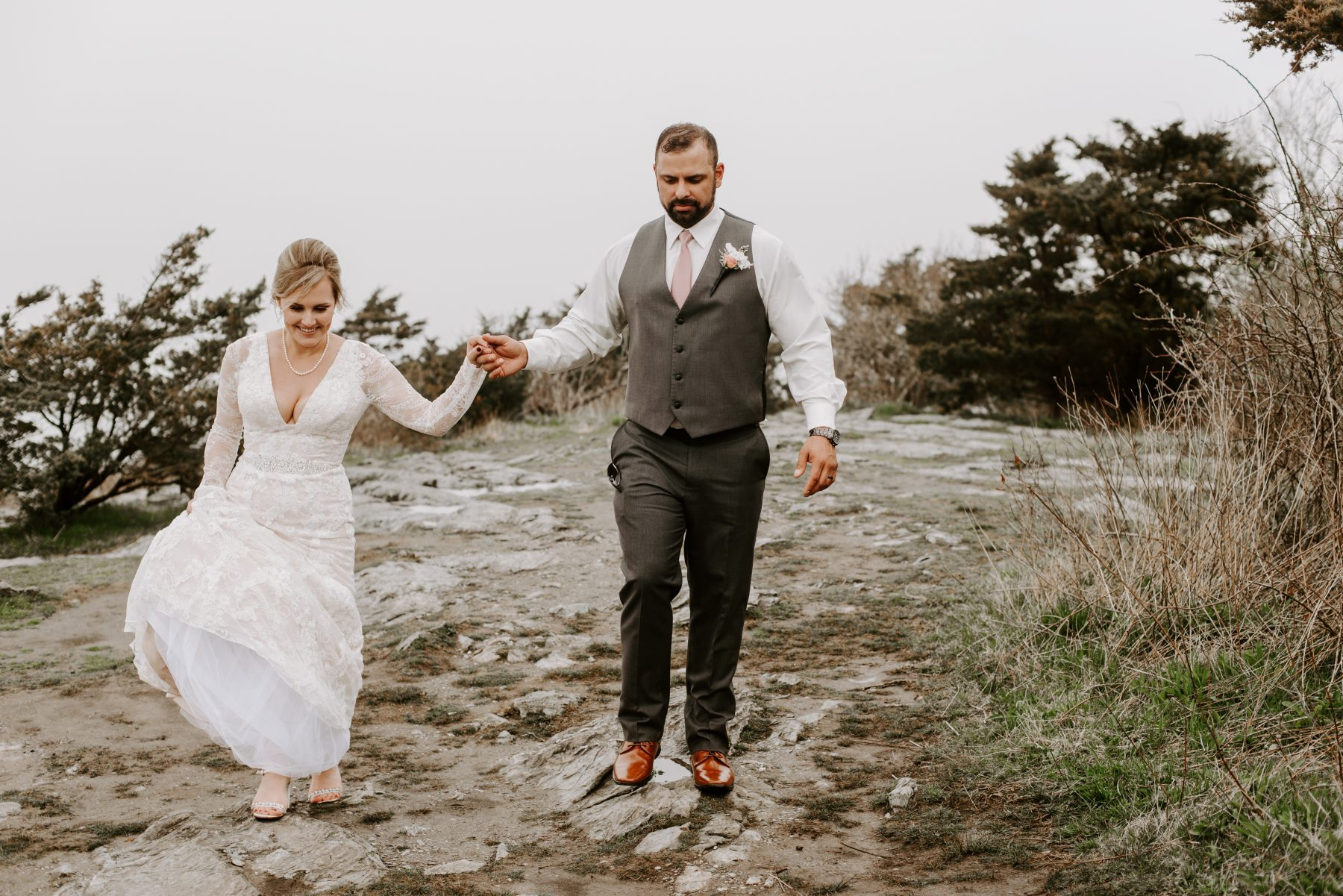 Castle Hill Newport Elopement Lorrie and Ed Blueflash Photography 25
