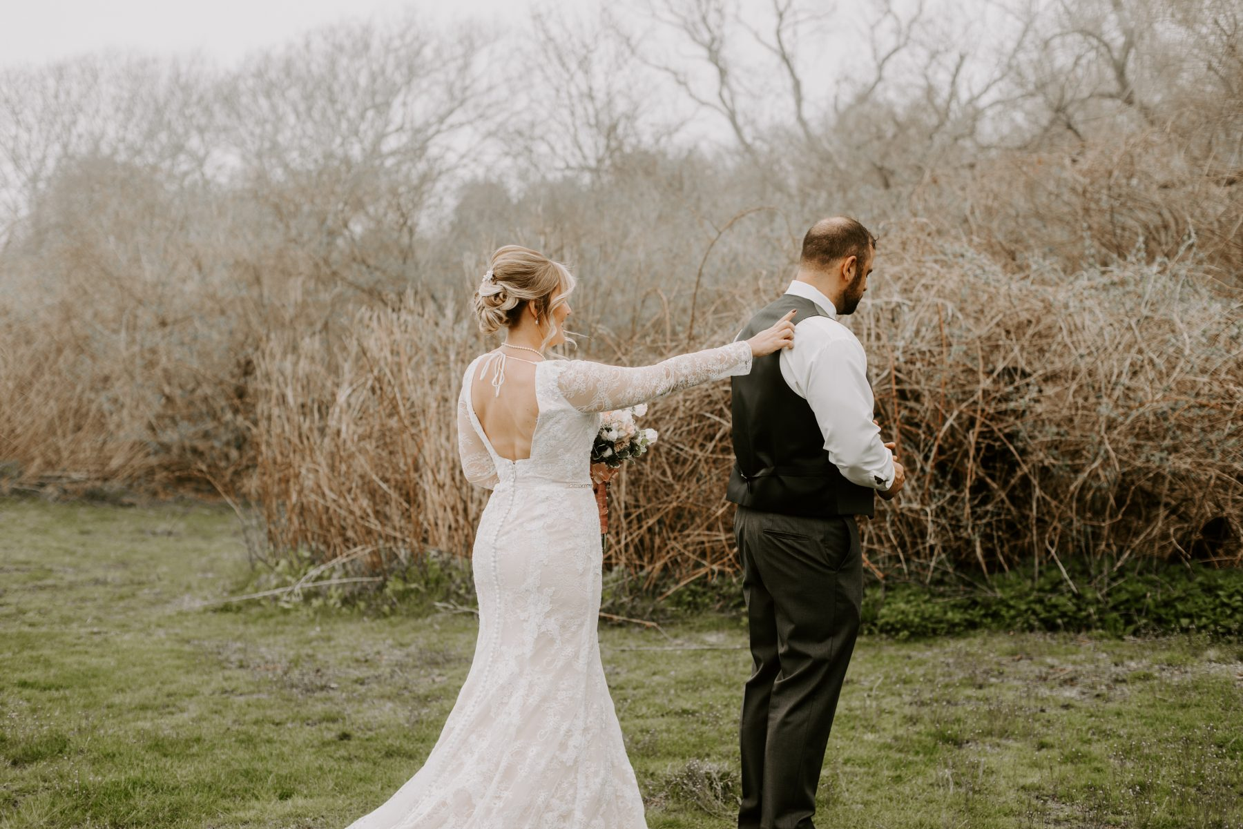 Castle Hill Newport Elopement Lorrie and Ed Blueflash Photography 3