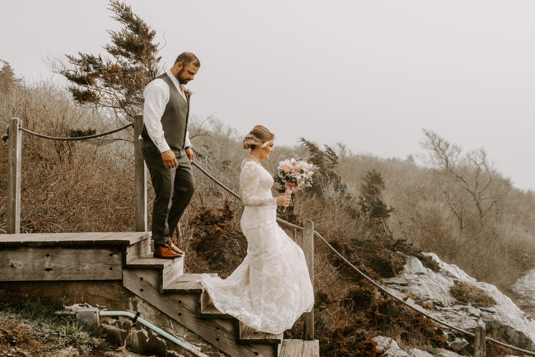 Castle Hill Newport Elopement Lorrie and Ed Blueflash Photography 8