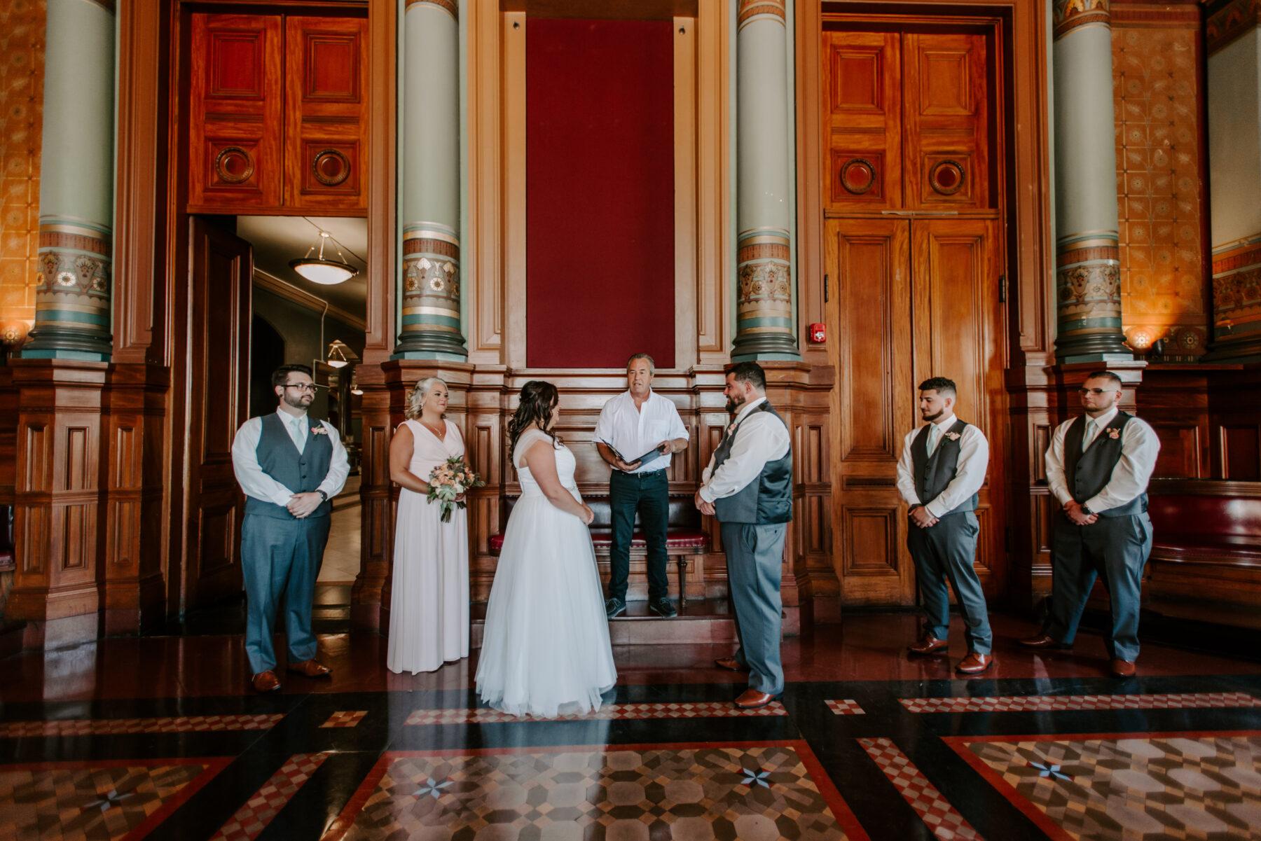 Providence City Hall Wedding Kerri and Billy Blueflash Photography 3