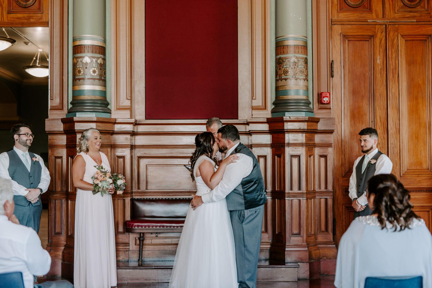 Providence City Hall Wedding Kerri and Billy Blueflash Photography 5