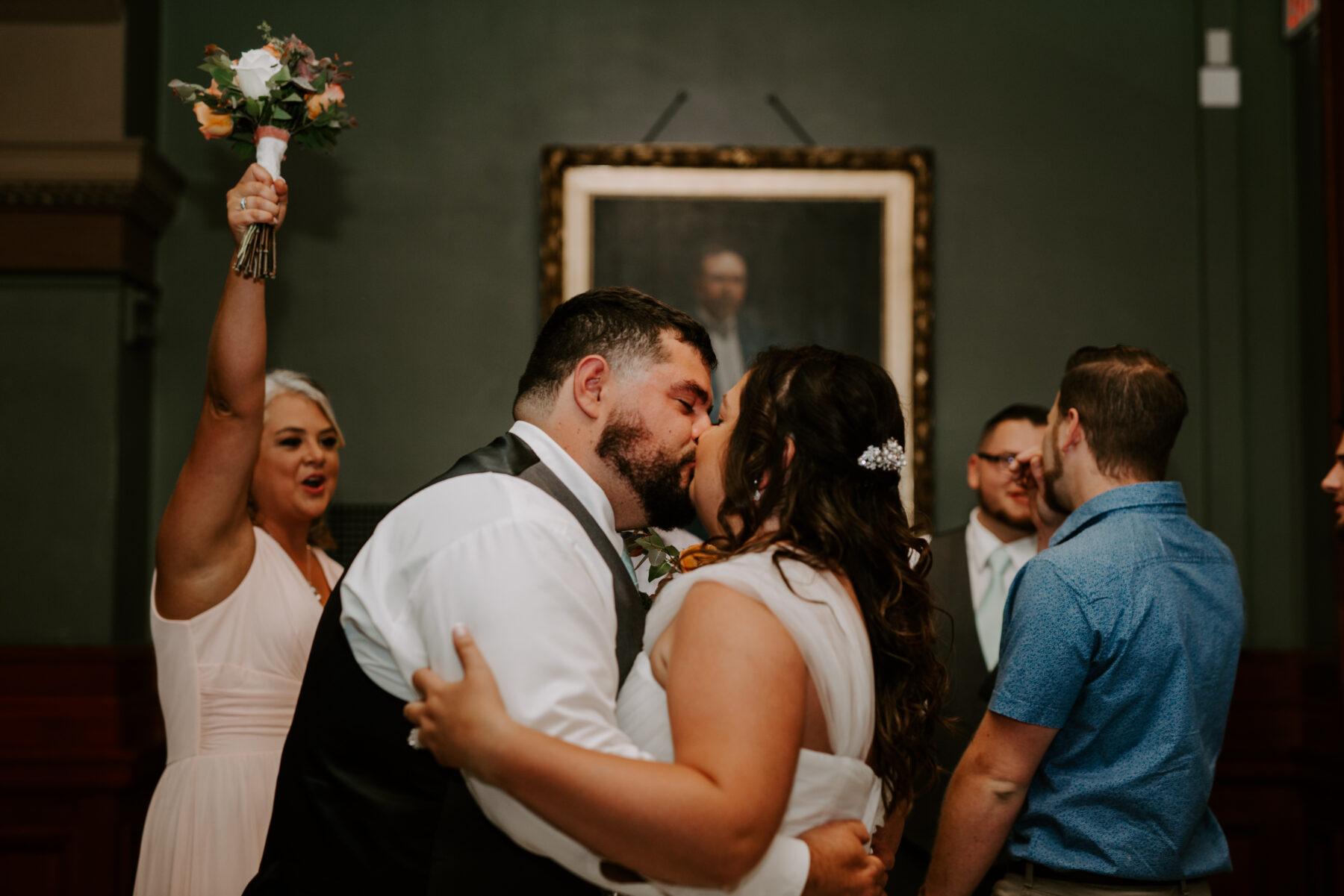 Providence City Hall Wedding Kerri and Billy Blueflash Photography 7