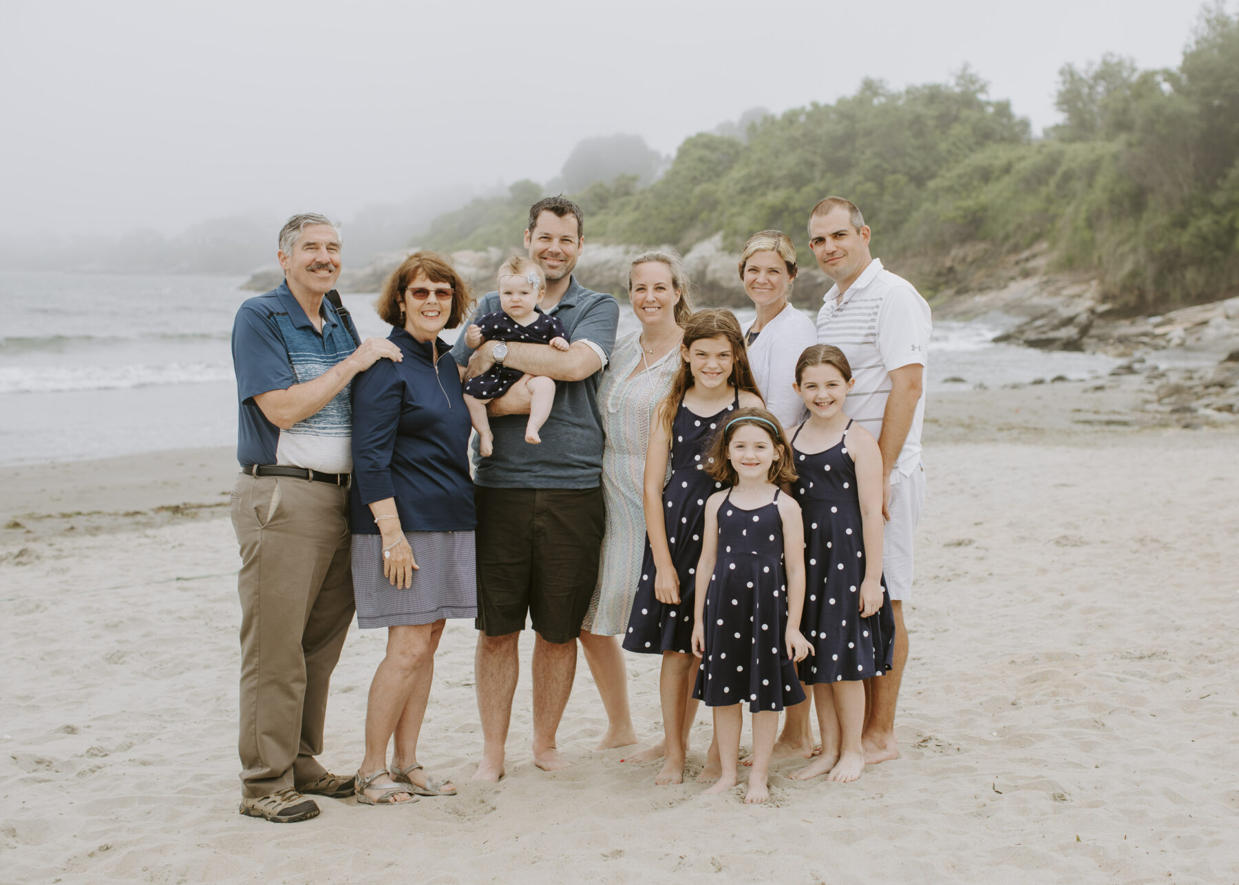 Rhode Island Beach Family Session Jen and Mark Blueflash Photography 1