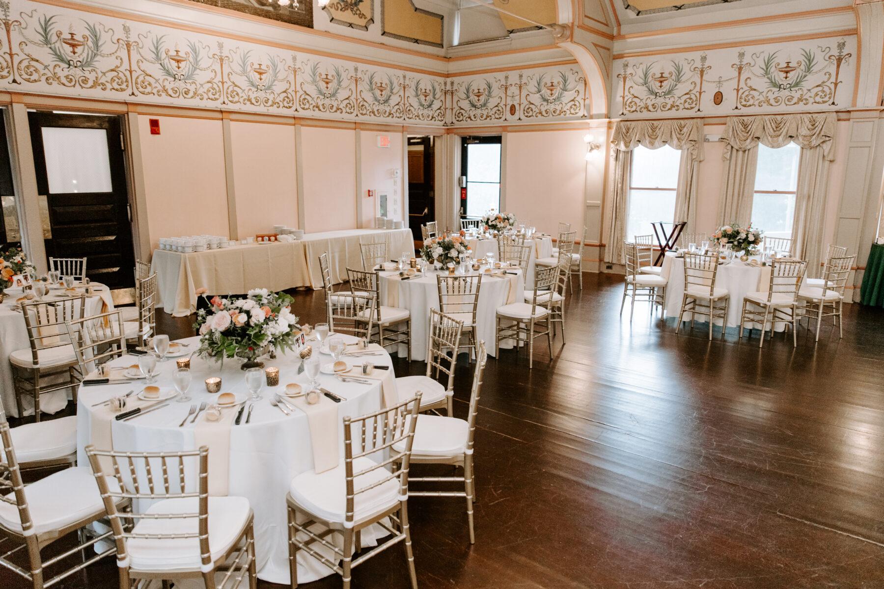 Roger Williams Casino Providence Wedding Emily and Scott Blueflash Photography 18