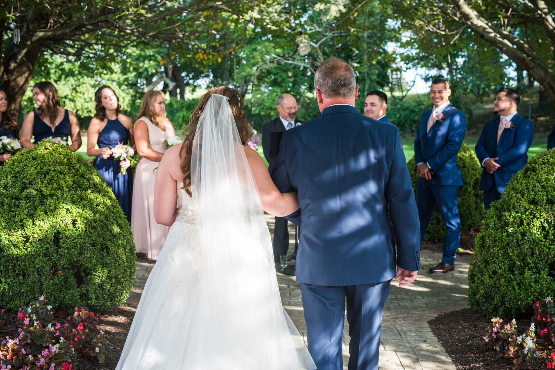 Quonset O Club North Kingstown Wedding Marissa and Alejandro Blueflash Photography 15