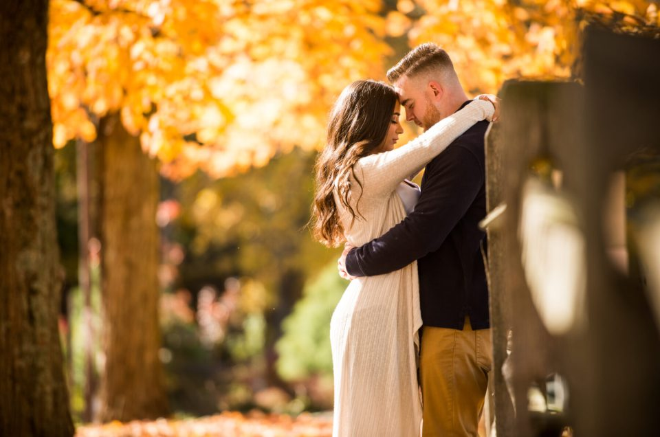 Kristen and Mike | Chase Farm Lincoln Engagement