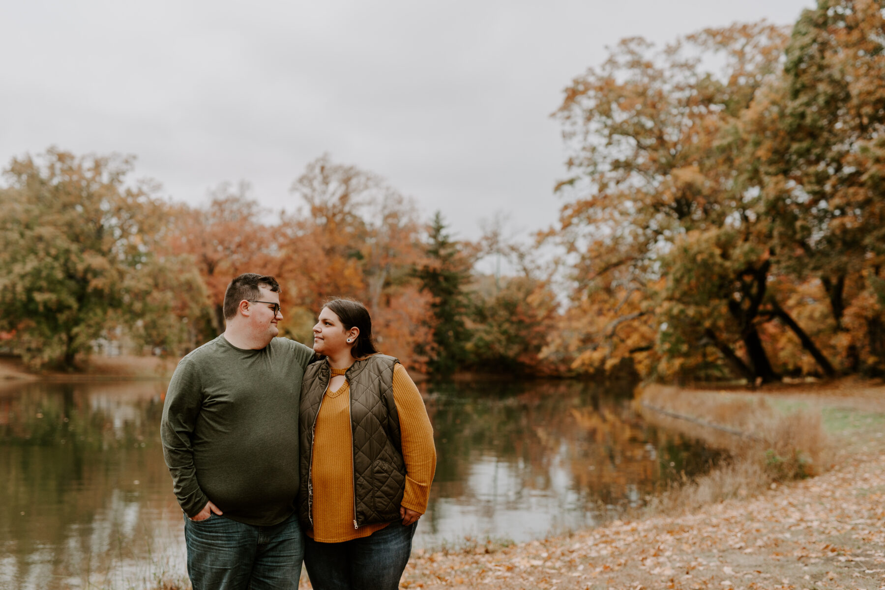 Roger Williams Park Providence Engagement Louann and Mike Blueflash Photography 11