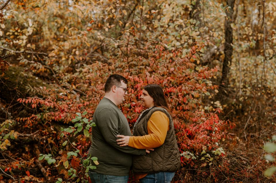 Louann and Mike | Roger Williams Park Providence Engagement