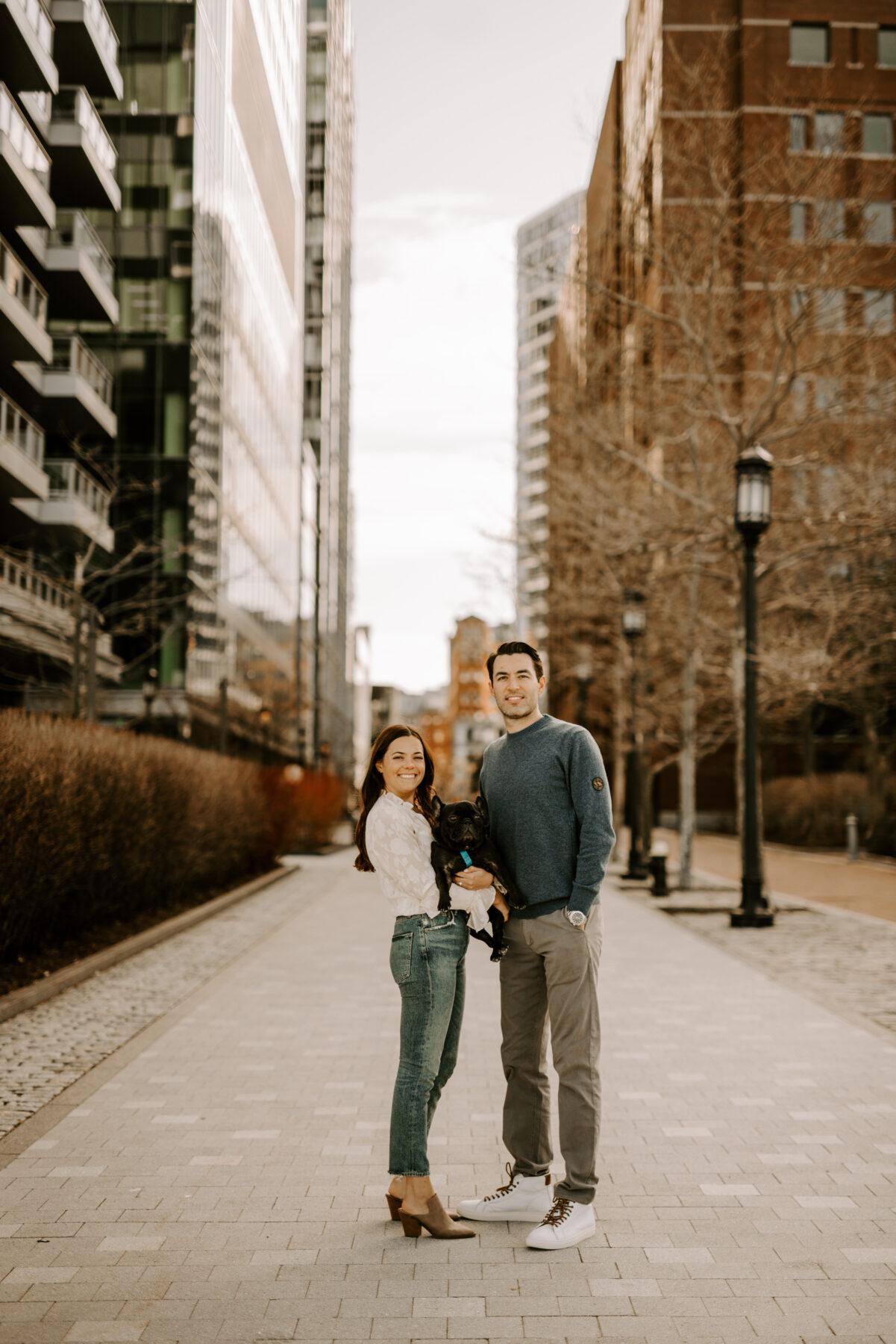 Boston Waterfront Engagement Rachel and Michael Blueflash Photography 4