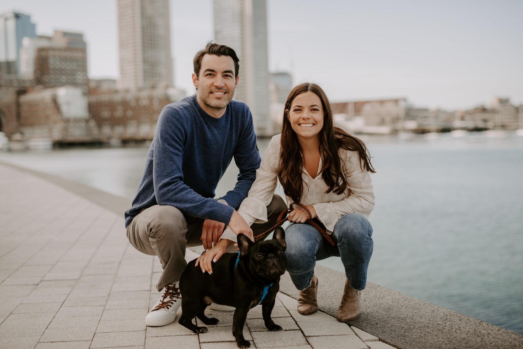 Boston Waterfront Engagement Rachel and Michael Blueflash Photography 8