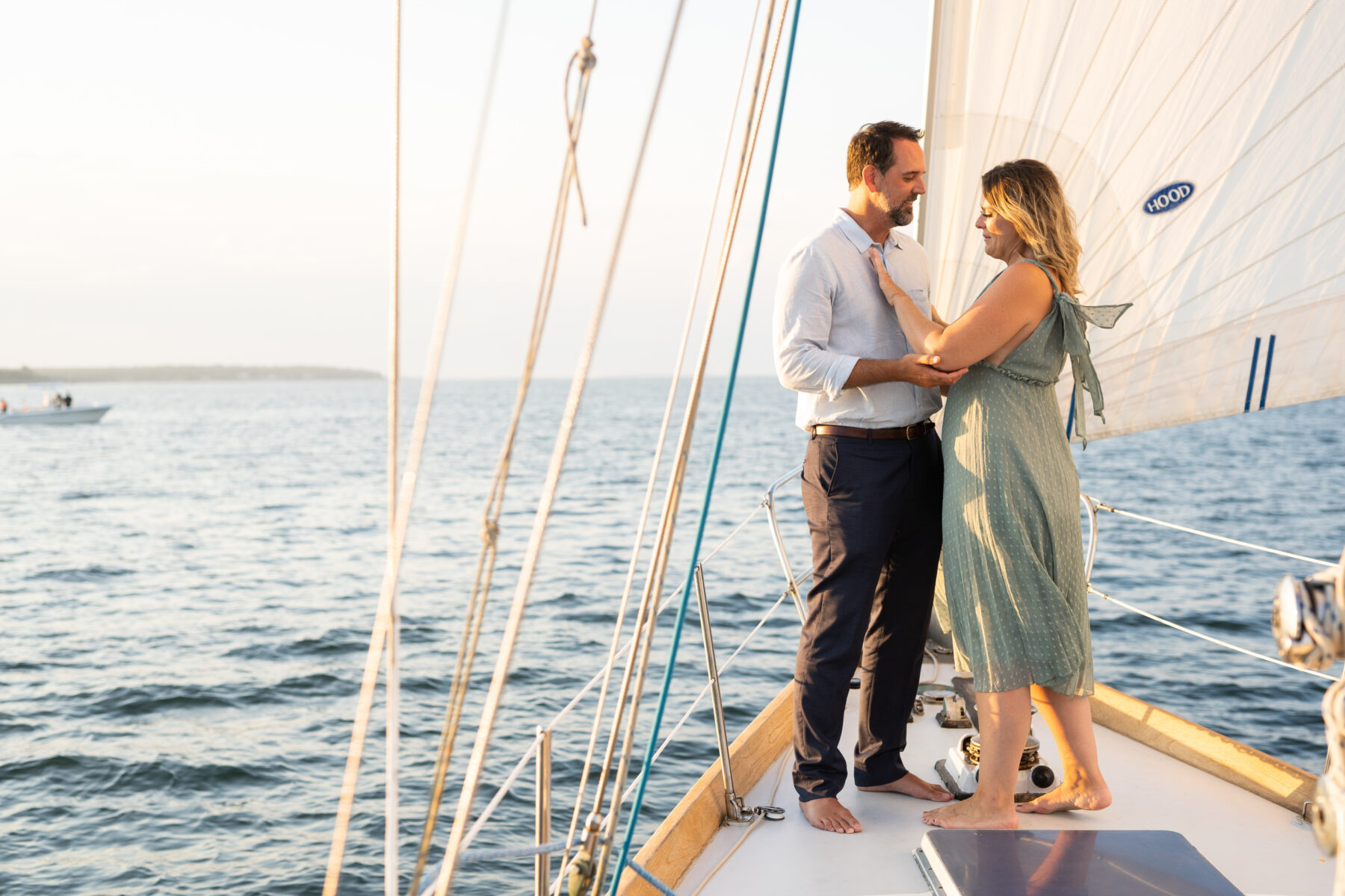 Sail Newport Proposal Jodi and Brian Blueflash Photography 11