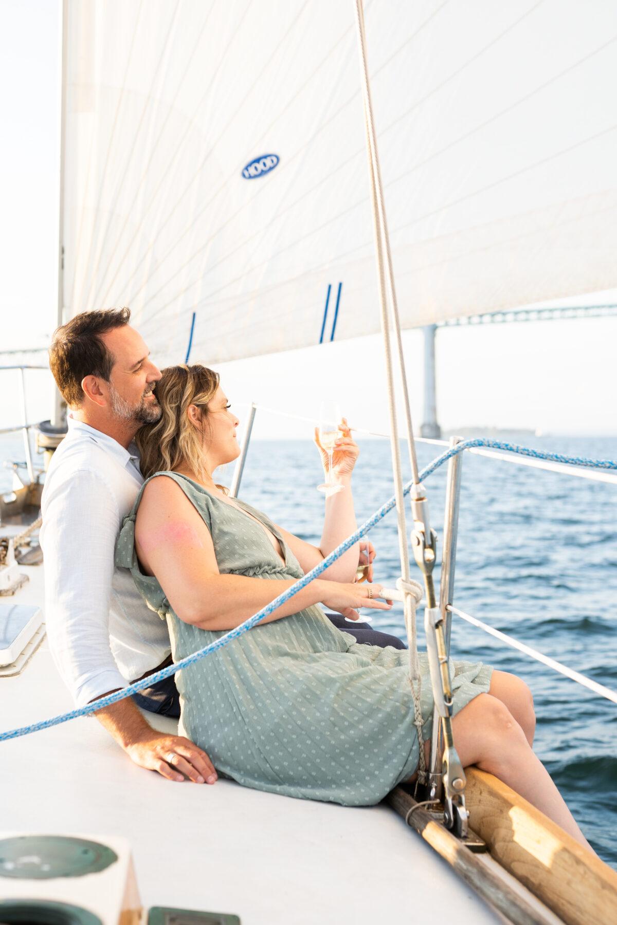 Sail Newport Proposal Jodi and Brian Blueflash Photography 16