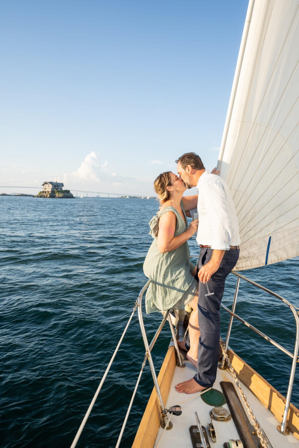 Sail Newport Proposal Jodi and Brian Blueflash Photography 18