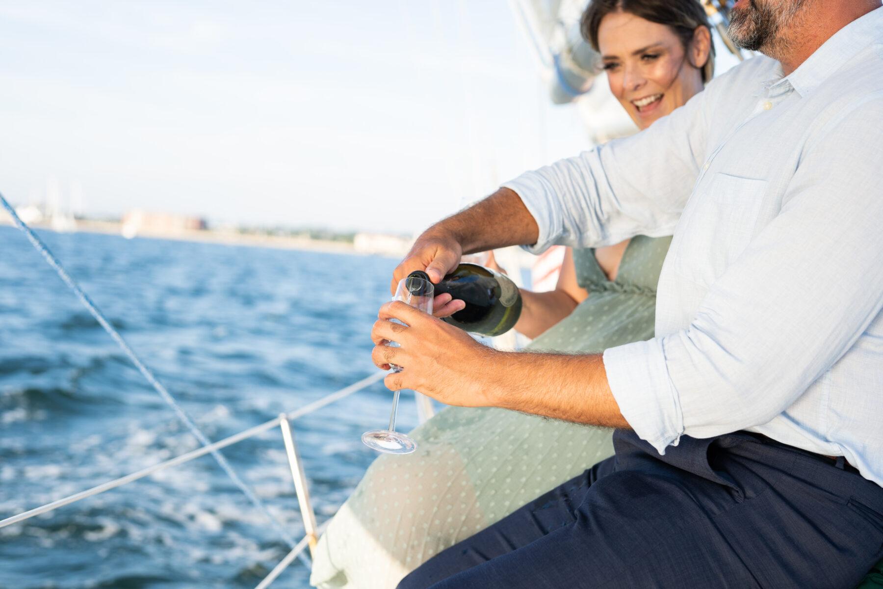Sail Newport Proposal Jodi and Brian Blueflash Photography 23