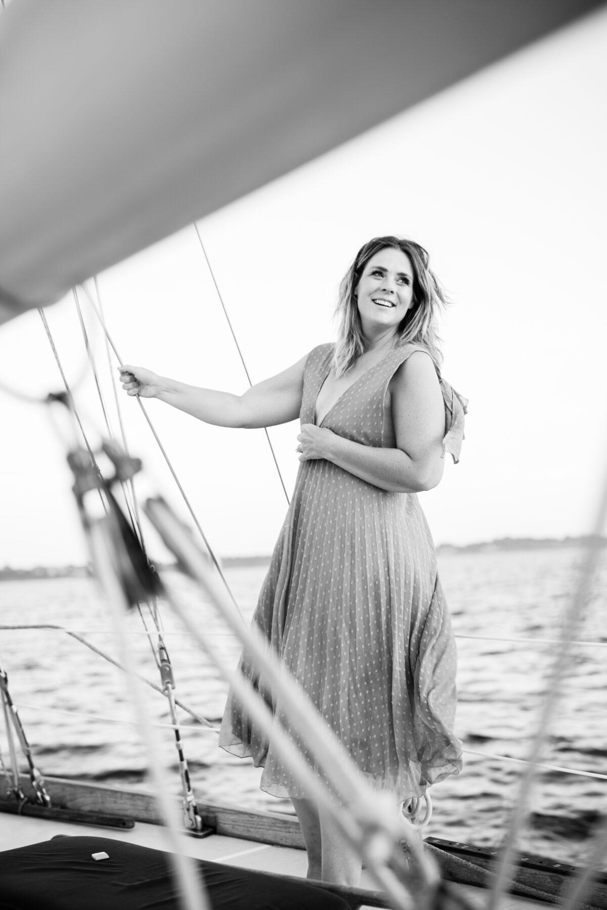 Sail Newport Proposal Jodi and Brian Blueflash Photography 5