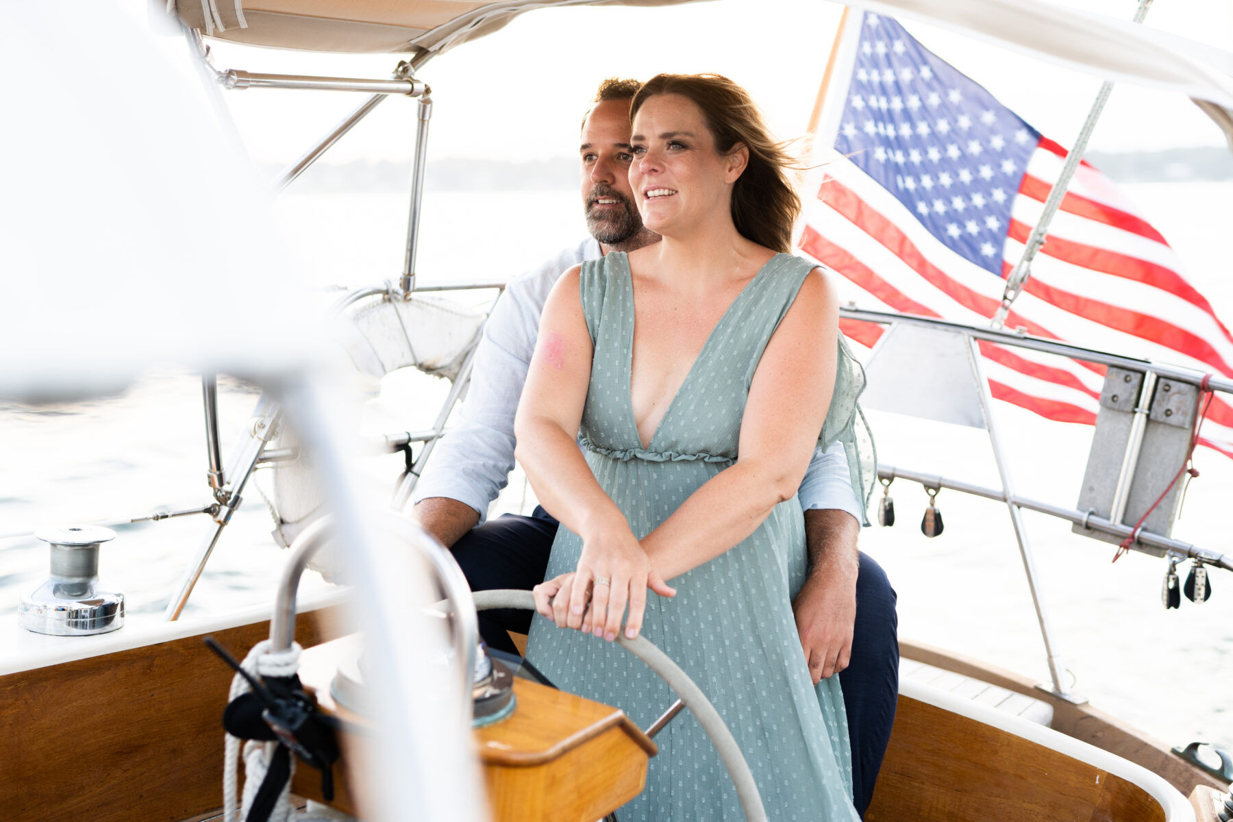 Sail Newport Proposal Jodi and Brian Blueflash Photography 6