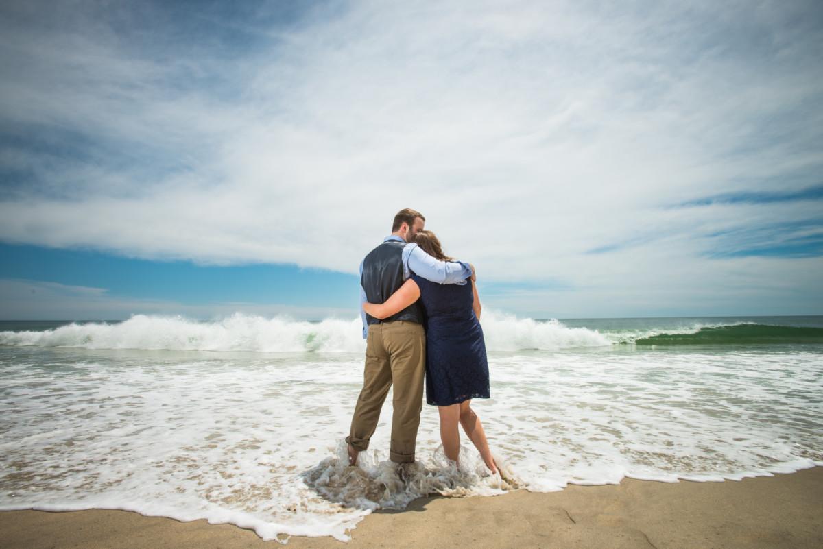 Maureen and Matt   Nantucket Engagement Session