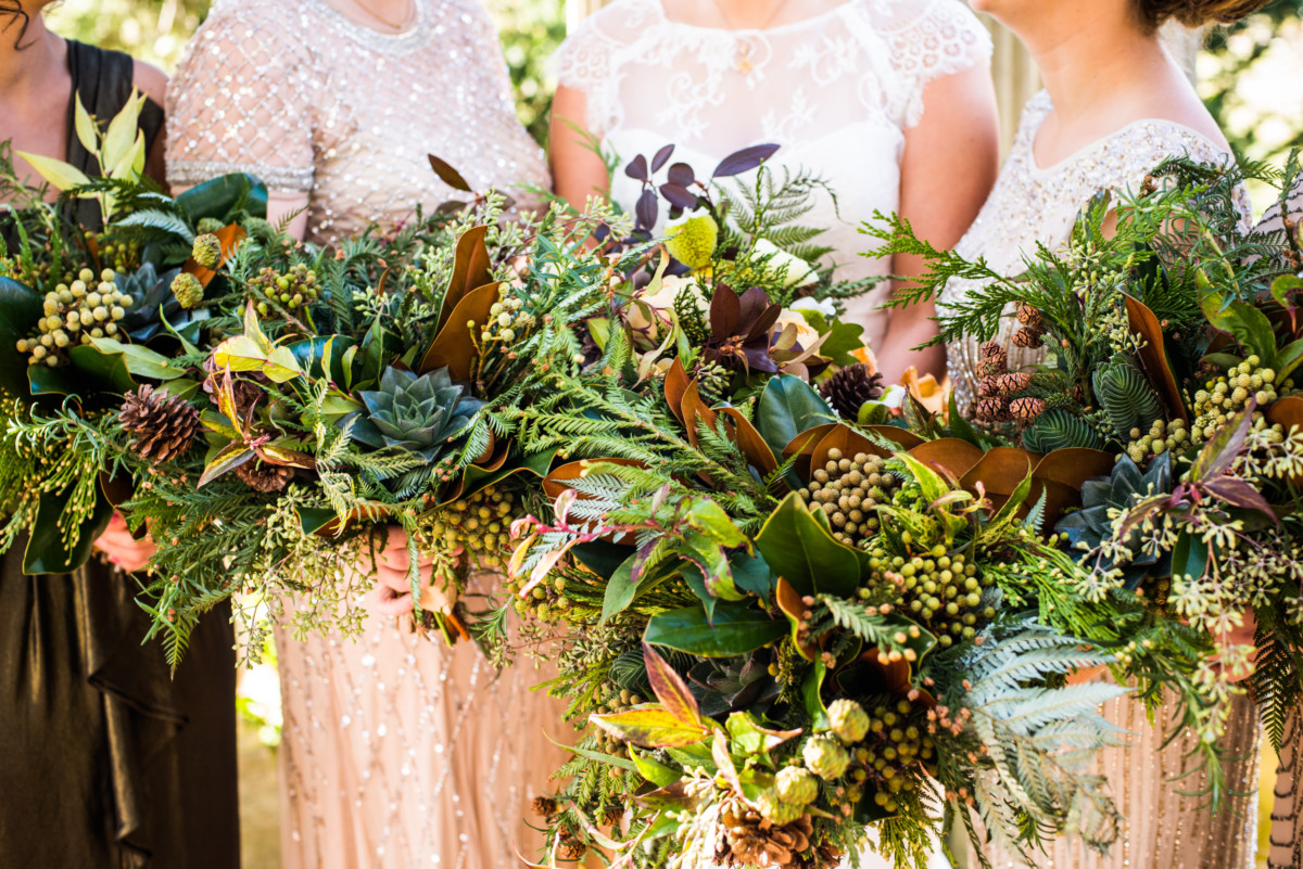 Eolia Mansion Wedding - Flowers By Semia Bouquets