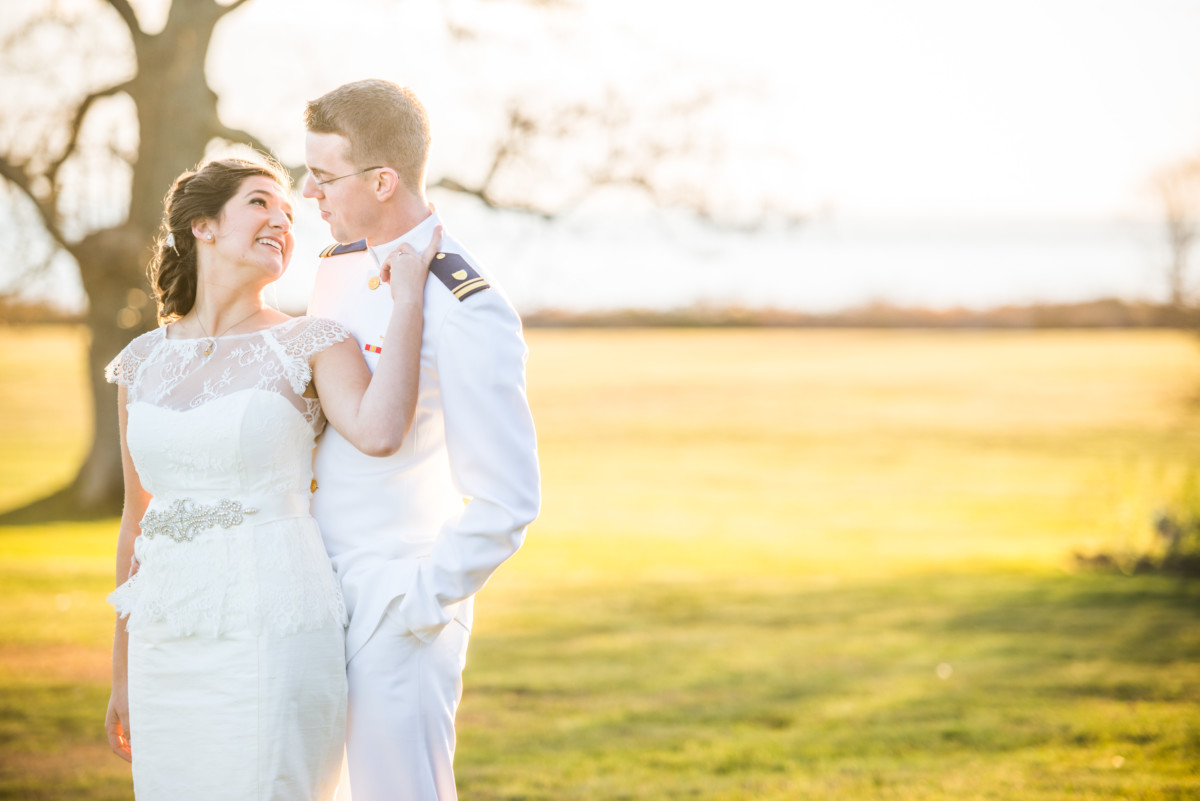 Eolia Mansion Wedding - Bride and Groom Portrait