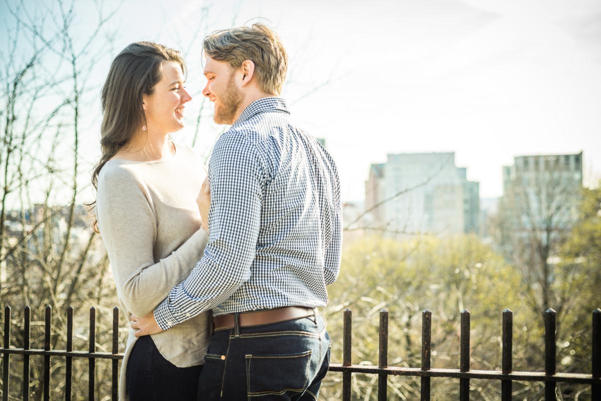 Morgan and AJ | Prospect Park Engagement