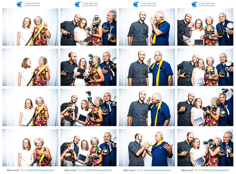 Oggi and Blueflash Photo Strips