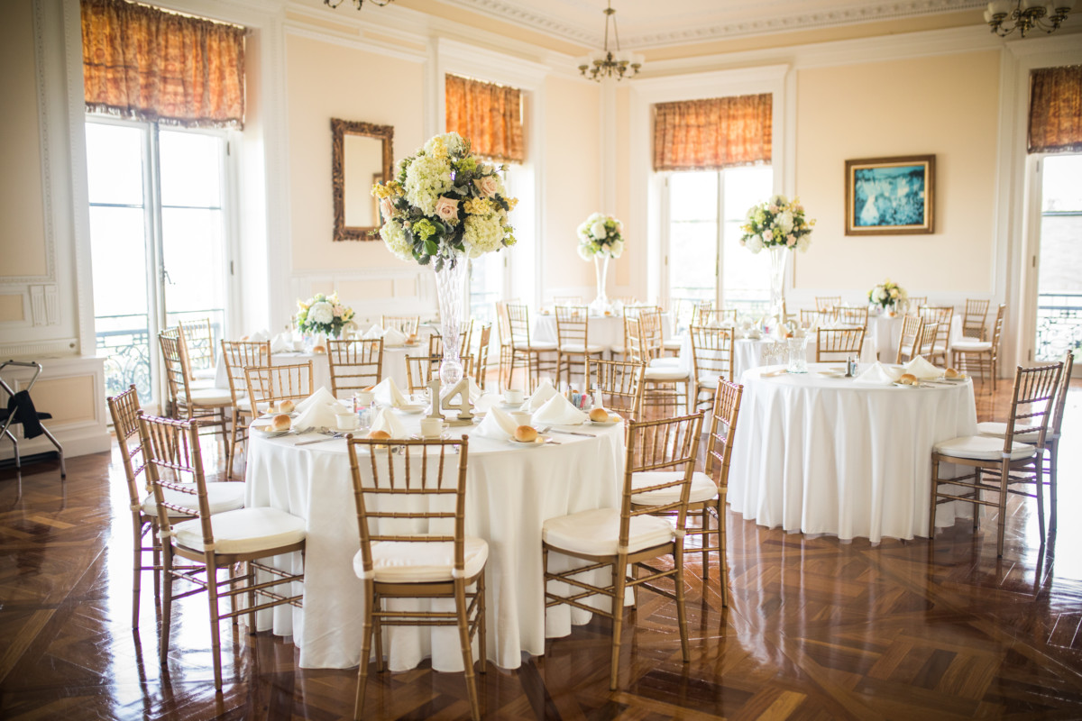 Paige and John | Wedding at Aldrich Mansion | Blueflash Photography