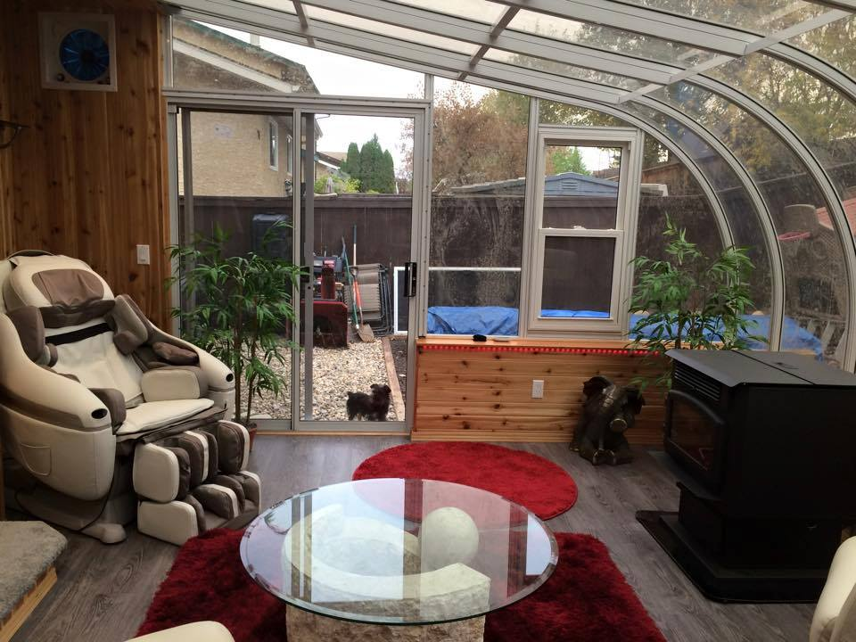 glass sunrooms