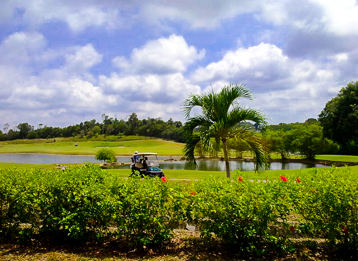 Golf course in Bintan