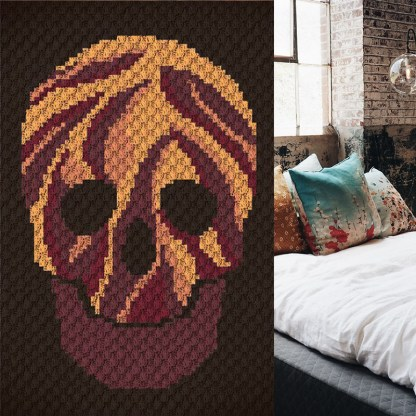 Blaze C2C corner to corner c2c crochet pattern
