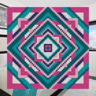 Fit to be Squared c2c corner to corner crochet pattern