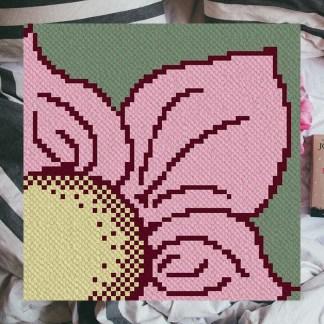 wild corner to corner c2c crochet pattern