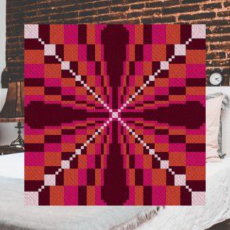 embrace corner to corner c2c crochet pattern