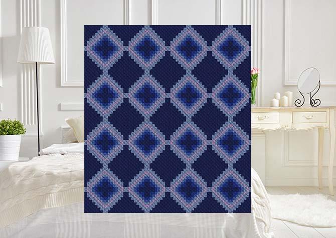 Ambiguous C2C Crochet Pattern