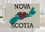 Flag of My Home Newfoundland Labrador C2C Afghan Crochet Pattern