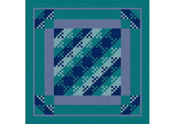 Bippity Boop C2C Afghan Crochet Pattern