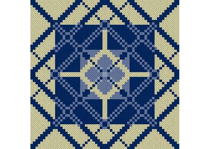 Light of My Life C2C Crochet Pattern