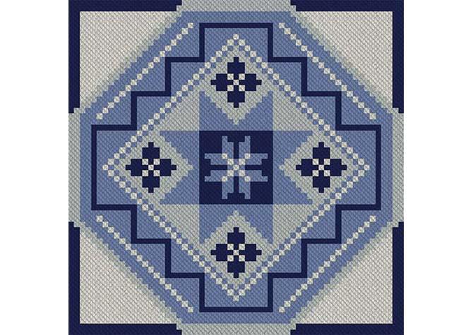 Oh My Stars C2C Lapghan Crochet Pattern