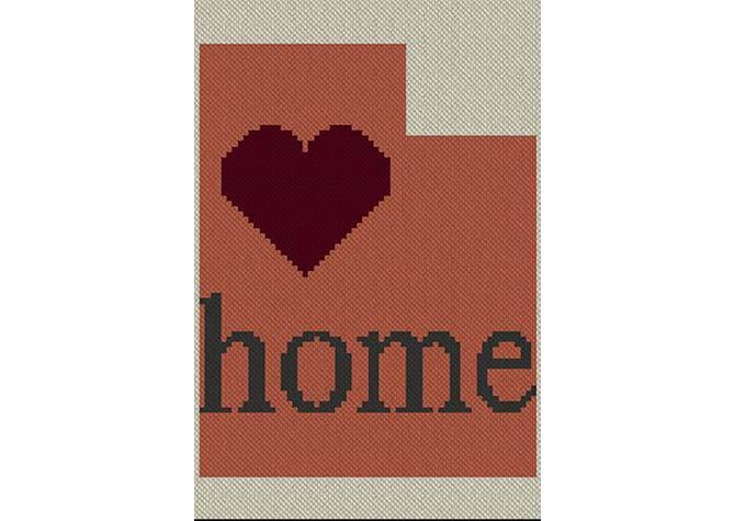 Utah Home C2C Afghan Crochet Pattern
