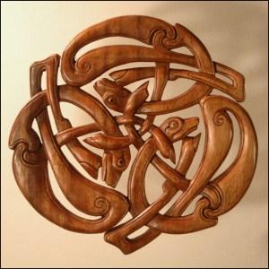 Celtic Creature Carving