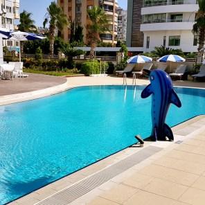 antalya yüzme havuzu konyaaltı sahilde oteller blue garden hotel (25)