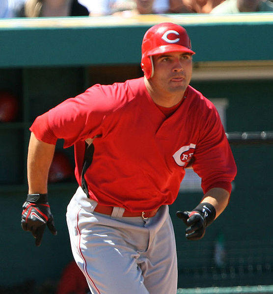 Joey Votto; Photo from Wikimedia Commons