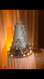 JW Marriott Bakery with cascading white orchids from Bluegrass Chic
