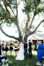Beautiful tree ceremony at The Acre in Orlando