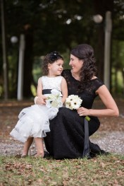 Flower girl and mother portrait - Bluegrass Chic Floral