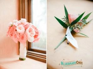Garden Roses; Bridal Bouquet; Bella Collina
