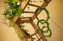 Earth theme for the VIP room at the PWG wedding expo