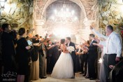 A classic, stunning sparkler exit to conclude this couple's laughter filled evening.