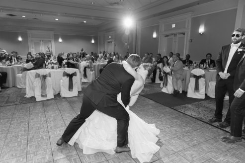 Lovely first dance as husband and wife.